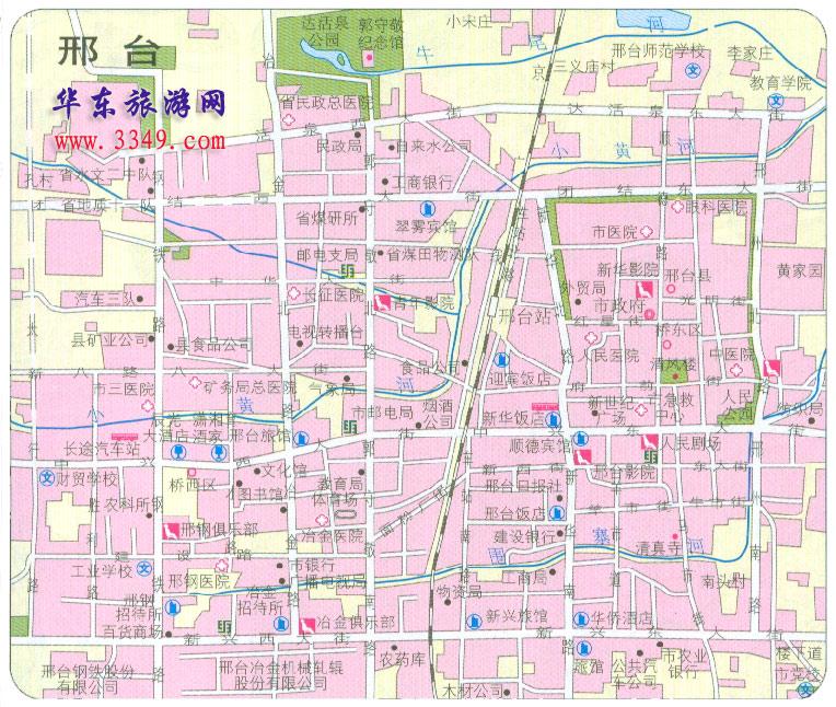邢台市市区地图 高清图片